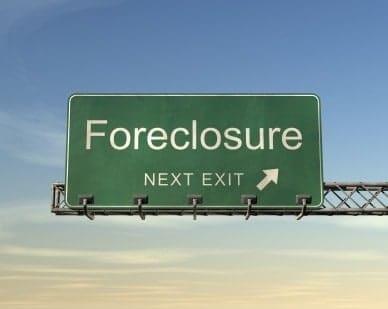 foreclosure deposit