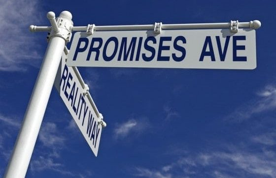 Living In A Chain Reaction Of Broken Promises