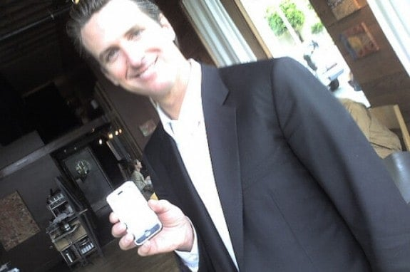 oily narcissist Gavin Newsom