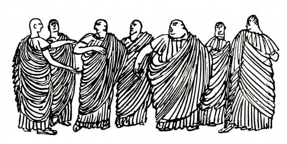 Roman_Senators_by_A_Yakovlev_1911